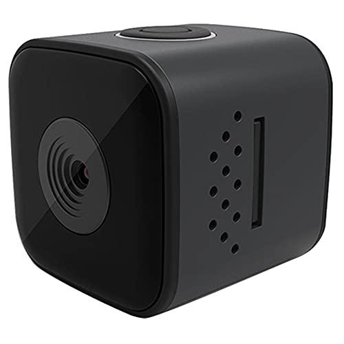bulingbuling Mini cámara SQ28 Portable Impermeable al Aire Libre de acción con la videocámara de Alta definición 1080p Noche Visión Negro