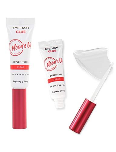 NOONS UP Colle à Faux-cils aux Eyelash Glue Clear 4ml Transparent