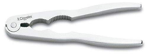 Oferta de 3 Claveles Cascanueces, Cromo, Plata, 17 cm