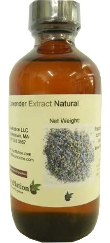 OliveNation Nartural Lavender Extract - 4 oz - Perfect for cakes, whipped creams, teas, chocolates and other delectable desserts - baking-extracts-and-flavorings