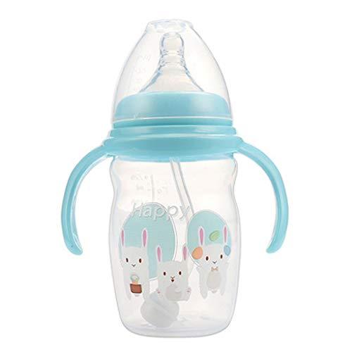 LLKK La Botella de látex,Segura y no tóxica,se Puede Usar con Confianza,Adecuada para recién Nacidos,Regalos para recién Nacidos