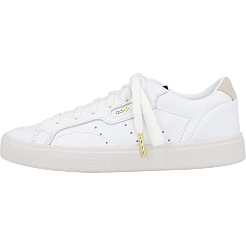 adidas Sleek, Zapatillas Mujer, Color Blanco Footwear White Crystal White 0, 38 EU