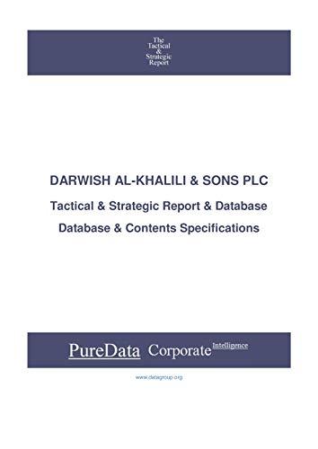 DARWISH AL-KHALILI & SONS PLC: Tactical & Strategic Database Specifications - Jordan perspectives (Tactical & Strategic - Jordan Book 25067) (English Edition)