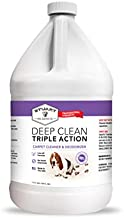 Stuart Pet Supply Co. Professional Strength Deep Clean (Gal.) 3X Carpet Cleaner Solution & Deodorizer, Concentrated Encapsulating Carpet Shampoo, Pet Odor & Dirty Carpet Cleaning Solution