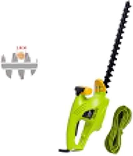 REWD Cortasetos Electrico Tijeras Cortasetos, 450 mm Longitud de la Cuchilla, Corte Diámetro 18 mm Cortasetos eléctrico Jardín poda Máquina Hedge Trimmers Home and Garden