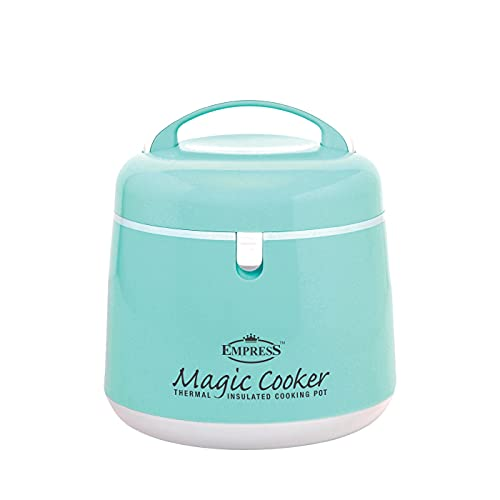 Empress Magic Cooker 2.5L Thermal Insulated Cooking Pot Malfunction of Thermal Cooker, Food Warmer, Rice Cooker, Cooler/Ice Bucket, Yogurt Maker
