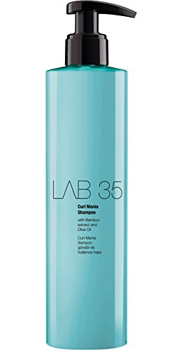 Kallos Lab 35 Curl Mania Shampoo with Bamboo Extract, 300 ml
