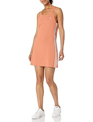 adidas Originals Women's Adicolor Classics Racerback Dress, Ambient Blush, Large