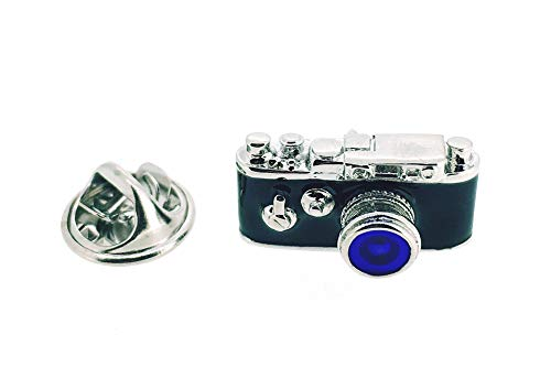 Gemelolandia | Pin de Solapa Cámara de Fotos Analógica Objetivo Azul |...