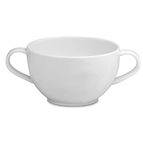 Elia FM-SPC-030 Taza de sopa, Porcelana de Ceniza de Hueso