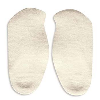 Comf-Orthotic Insoles - 3/4 length - Men's, Large - 1 pair