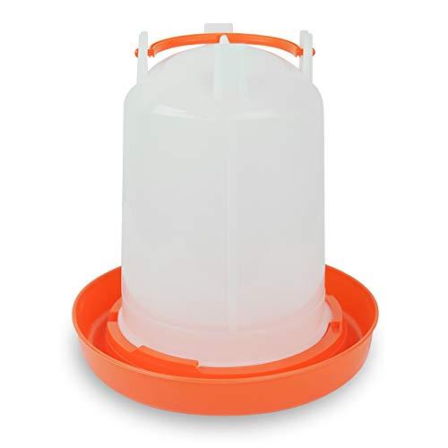 Quailzz Tränke 3l - orange - Wachteln Hühner Geflügel Enten Gänse Fasane