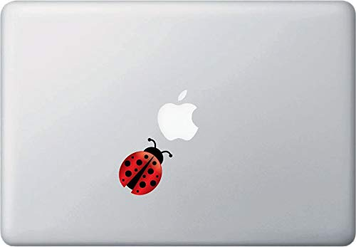 H421ld TP, Ladybug, calcomanía de vinilo para Macbook, ordenador portátil, Trackpad, uso en interiores, 2016 (1.5' ancho x 2' alto)