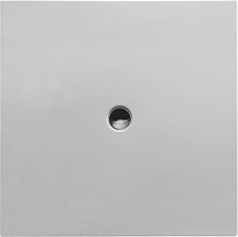 Duravit Bodenbündige Duschwanne 120x120cm Quadrat, weiß, 720089000000000