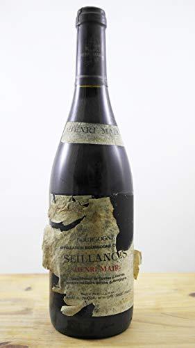 Vino Cosecha 1994 Bourgogne Seillances Henri Maire ETA 5 Botella