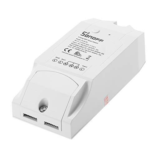 SONOFF Dual ITEAD Smart Switch WIFI, 2 Canali Universale Interruttore Remoto Modulo di Automazione 100-240 V CA