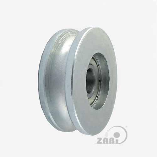 ZAB-S Metallrollen (Code:CM44/10LL) für Tore mit Lager auf Seil Ø 44 - Ø 79