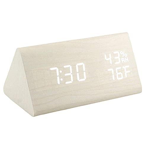 Despertador Digital Madera  marca Janizy