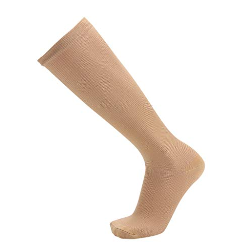 jieGorge 1Pair Unisex Compression Long Socks Women Men Pure Color Leg Socks , Socks , Clothing Shoes & Accessories Sales (BGM)