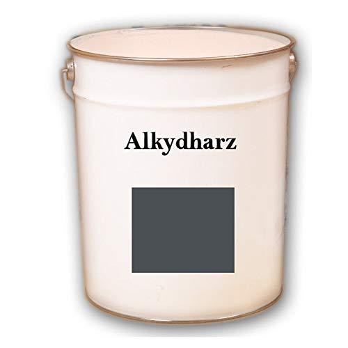 5kg RAL 7016 Anthrazitgrau grau Wandfarbe seidenmatt Wandbeschichtung Beschichtung innen und außen