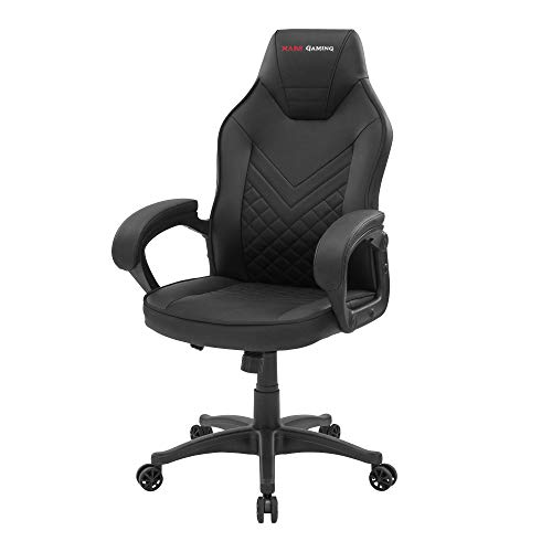 Mars Gaming MGCXONEBK, Silla Gaming Premium, PU, AIR-Tech, Clase 4, Negro