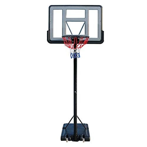HFRTKLSAW Soporte de tablero ajustable, soporte de baloncesto portátil ajustable juguete educativo para interiores y exteriores niños juguete 1.45-3.05M