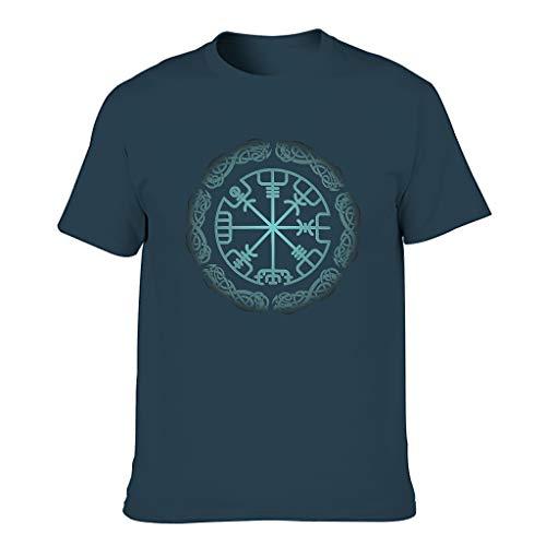 FFanClassic Hombres Cotton T-Shirt Viking Novelty Funny - Tops -La ropa de moda