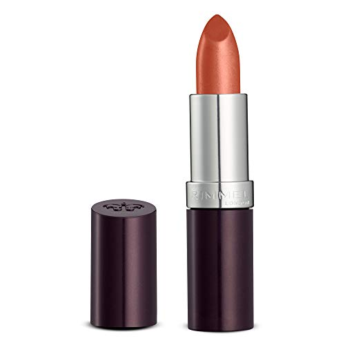Rimmel Lasting Finish Intense Wear Lipstick Coral In Gold