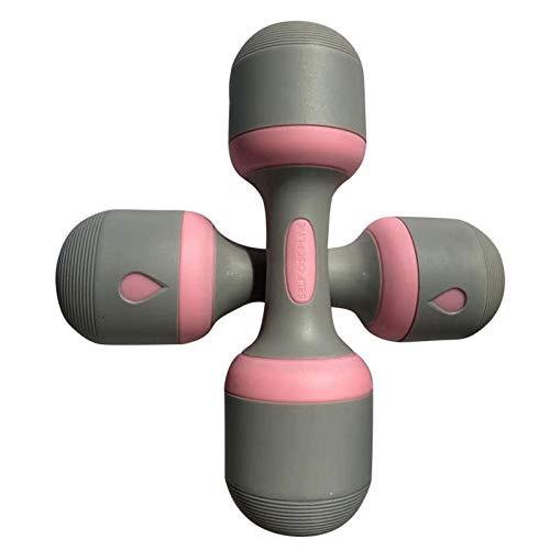 Juego de 2 Mancuernas, Mancuernas ajustables con agarre antideslizante, Mancuernas multiusos para gimnasio en casa, oficina (neopreno)