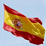 MI RINCON Bandera ESPAÑA con Escudo 150x90cm