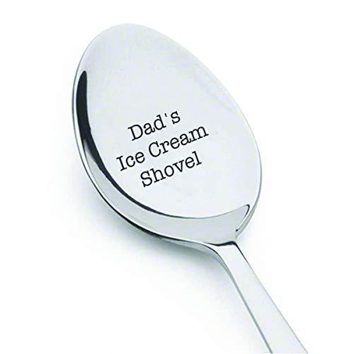 Cuchara de helado para el Día del Padre, regalo de cumpleaños para papá