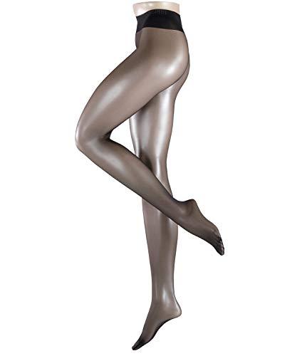 ESPRIT dames 20 denier panty - 1 stuks, maat 36-46, versch. kleuren, glinsterende look en hoge comfortabele tailleband.