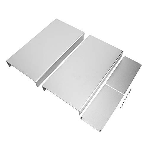 Scatola di progetto di giunzione in alluminio 3,1 x 6,3 x 11,8 pollici Scatola di recinzione elettronica in argento per GPRS