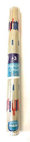 Mister Gadget - Juego de Mikado gigante de madera, 38 cm