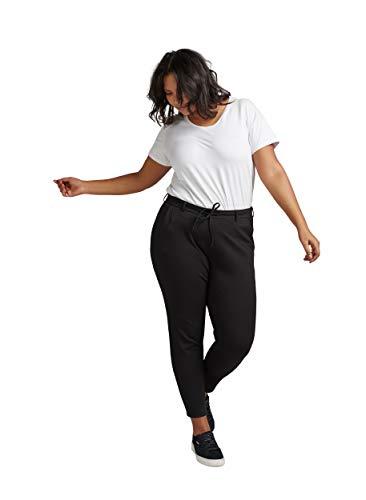 Zizzi Damen Große Größen Maddison Hose Jogging Elegant Anzughose Gr 42-56