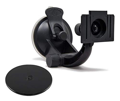 Rand McNally Dashboard Mounting Kit (Suction Mount+Dash Mount Disc) for IntelliRoute TND 515/525/520 LM/530 LM/730 LM/TripMaker RVND 7730/7735 LM/TND 540 GPS/TND 510 & RVND 5510 Bracket Mount - RMUMK