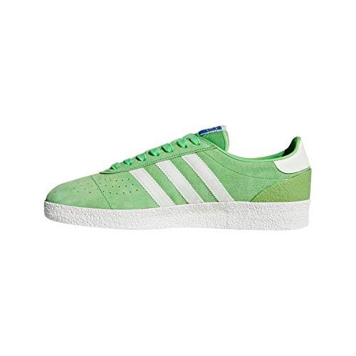 adidas Men's Munchen Super Spzl Cross Trainers, Green (Intgrn/Cwhite/Cwhite Intgrn/Cwhite/Cwhite), 3.5 UK