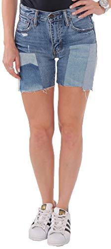 Levi's Damen Jeans Short 505C Vintage Destroyed Blau (W25)