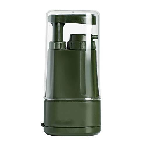 Hochwertiger tragbarer Wasserreiniger für den Außenbereich, Abs-Material in Lebensmittelqualität, doppelte Ultrafiltrationsreinigung, Desodorierung, Geschmacksverbesserung, dreistufige Filtration