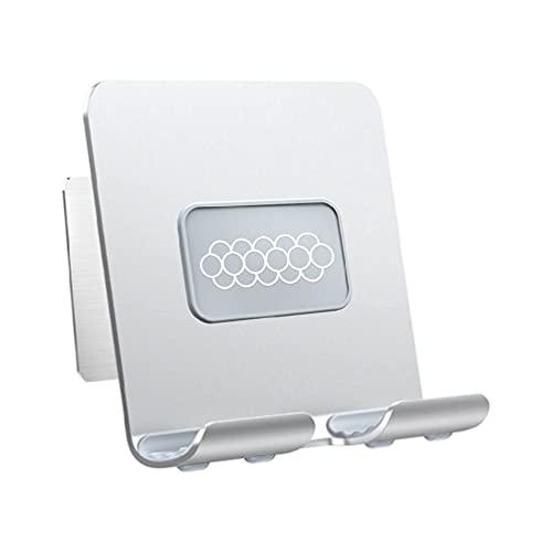 ZOUD Wandmontierte Tablet-/iPad-Halterung, stanzfrei, für 10,2–33 cm Tablets und 10,2–20,1 cm (4–7,9 Zoll) Handy-Tablet-Wandhalterung.