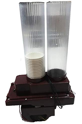 Double Tube 9oz 220V Paper Cup Vending Device for Water Coffee Juice Vending Machine