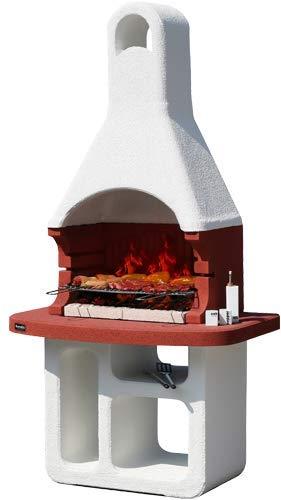 Sunday Korsika Model Masonry Barbecue Charcoal Operated