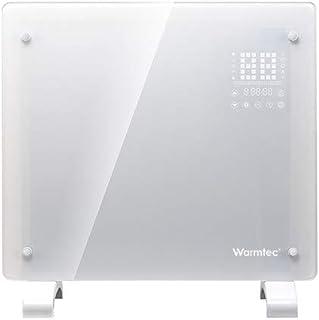 Radiador eléctrico de cristal EGW1000BI, 1000 W, blanco, WIFI