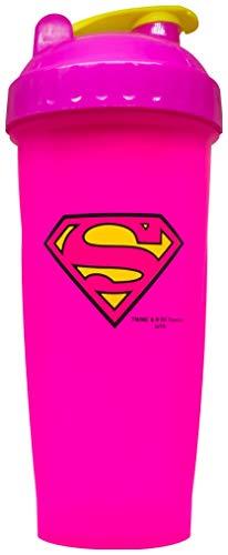 Performa Hero Series DC Shakers Shaker Eiweißshaker Proteinshaker Fitness 800ml Fassungsvermögen (Supergirl) …