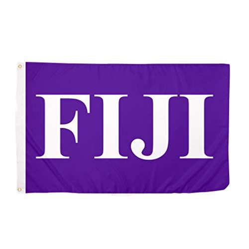 Phi Gamma Delta Letter Fraternity Flag Greek Banner Large 3 feet x 5 feet Sign Decor Fiji