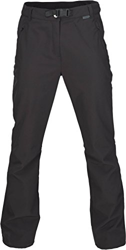Fifty Five Softshellhose Damen Thermohose Outdoor Orac Schwarz 34 Warme Funktionshose
