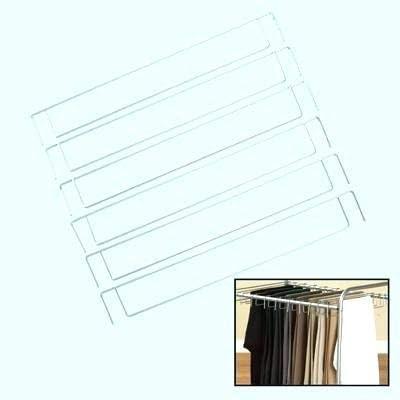 discount IdeaWorks outlet online sale 18pc outlet online sale Rolling Pants Trolley Extra Hanger Set online sale
