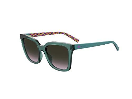Missoni occhiale da sole MMI 0003/S ZI9/O9 Verde rosa taglia 53 mm Donna