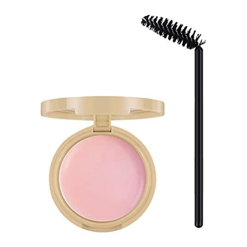 Frcolor Kit de Jabón para Cejas Brocha de Gel para Cejas Naturales de Larga Duración Pomada de Estilo para El Salón de Maquillaje