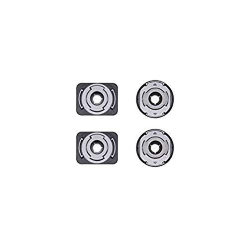 DJI Osmo Action Part 2 Kit di Montaggio Adesivo - Supporti Adesivi per Videocamera Osmo Action, Accessori per Collegare Fotocamera a Superfici Piane e Curve, Supporto per Nuove Opzioni di Ripresa